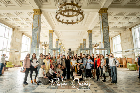 210428_Damas Latinas -Russian State Library visit.